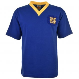 Leeds United 1956-61 Retro Football Shirt