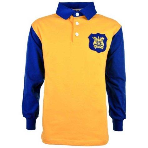 Leeds United 1950s John Charles Retro Football Shirt