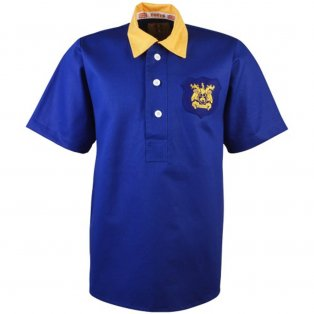 Leeds United 1956-1957 Retro Football Shirt
