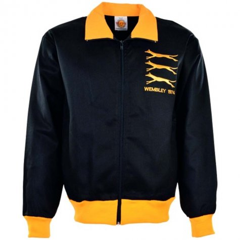 Wolves 1974 Retro Track Top