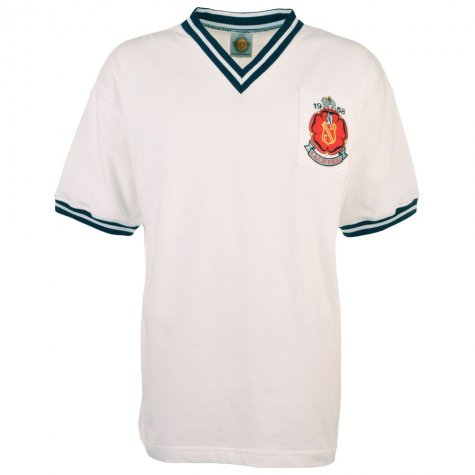 Bolton 1958 FA Cup Final Retro Football Shirt