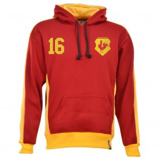 Bradford City Number 16 Retro Hoodie