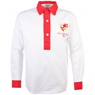 Charlton Athletic 1947 FA Cup Final Retro Football Shirt