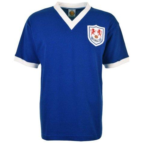 Millwall 1950-1960 Retro Football Shirt
