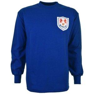 Millwall 1960s Retro Football Shirt