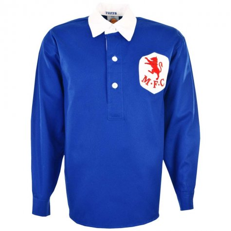 Millwall 1940s Home Retro Football Shirt