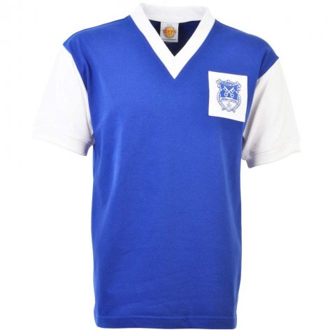 Peterborough United 1960s Retro Football Shirt
