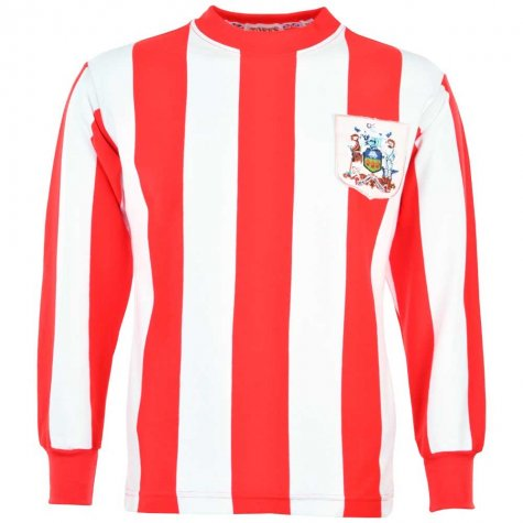 Sheffield United 1960s-1970s Retro Football Shirt