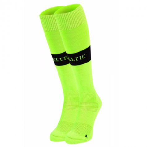 2017-2018 Celtic Home Goalkeeper Socks (Green)