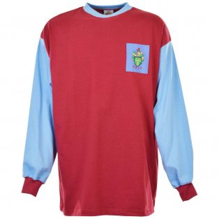 Scunthorpe United 1957-1959 Retro Football Shirt