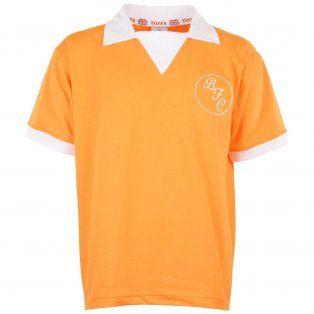 Blackpool 1970s Retro Football Shirt