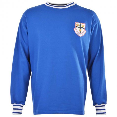 Colchester United 1970-1972 Retro Football Shirt