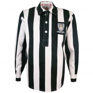 Grimsby Town 1940s-1950s Retro Football Shirt