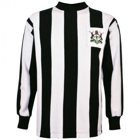Notts County 1960s-1970s Retro Football Shirt