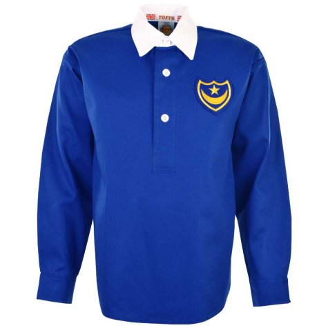 Portsmouth 1939 FA Cup Winners Retro Football Shirt