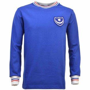 Portsmouth 1960s-1970s Retro Football Shirt