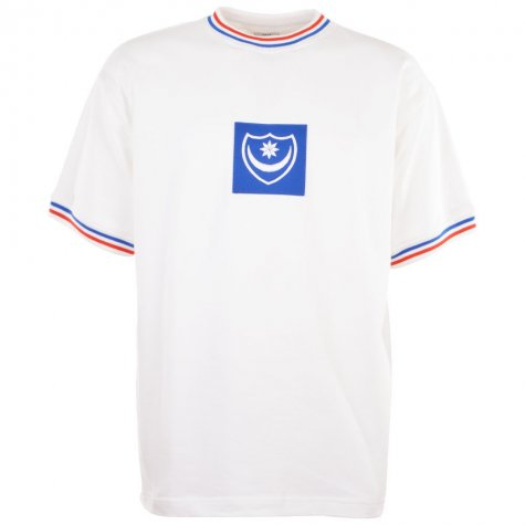 Portsmouth 1970s Away Retro Football Shirt
