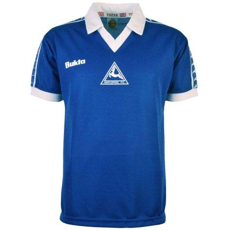 Hartlepool United 1977-1978 Bukta Retro Football Shirt