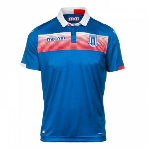 2017-2018 Stoke City Macron Away Shirt (Kids)