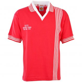 Aberdeen 1976 Scottish League Cup Final Retro Football Shirt