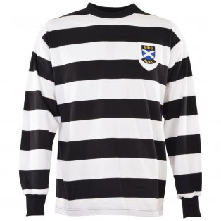 Ayr United 1960s Retro Football Shirt