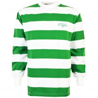 Celtic 1967 European Cup Winners Retro Football Shirt