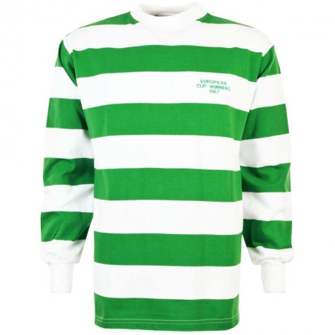 Celtic 1967 European Cup Winners Retro Football Shirt