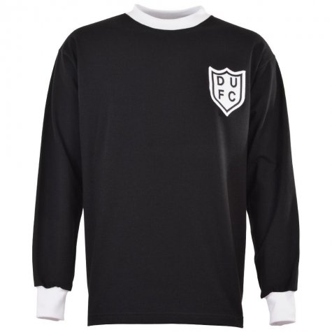 Dundee United 1960s Black Retro Football Shirt