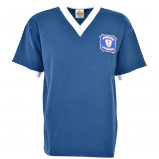 Falkirk 1956-1959 Retro Football Shirt