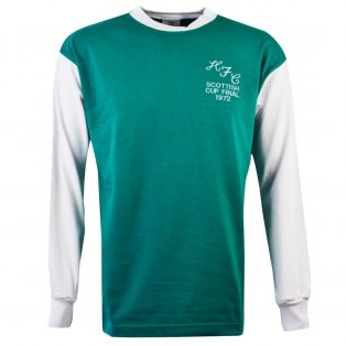 Hibernian 1972 Scottish Cup Final Retro Football Shirt