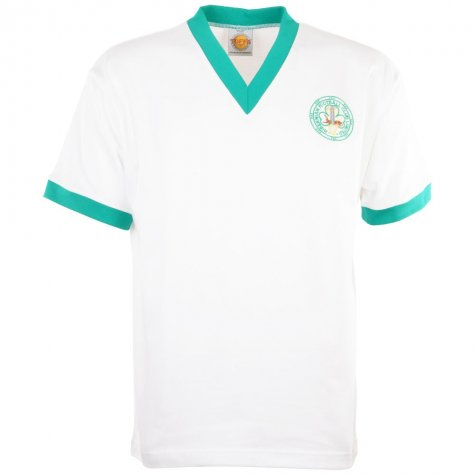 Hibernian 1960s Away Retro Football Shirt