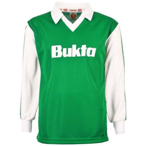 Hibernian 1977-1980 Home Bukta Retro Football Shirt