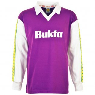 Hibernian 1977-1978 Away Bukta Retro Football Shirt