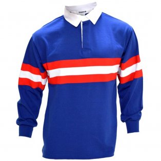 Rangers 1950s Retro Football Shirt