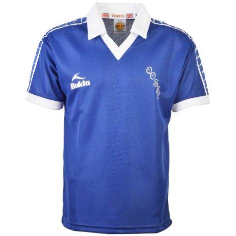 Queen of the South 1977-1980 Bukta Retro Football Shirt