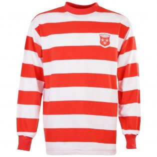 Hamilton 1960s Retro Football Shirt