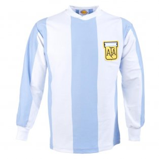 Argentina 1978 World Cup Retro Football Shirt