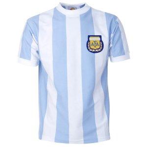 Argentina 1986 World Cup Retro Football Shirt