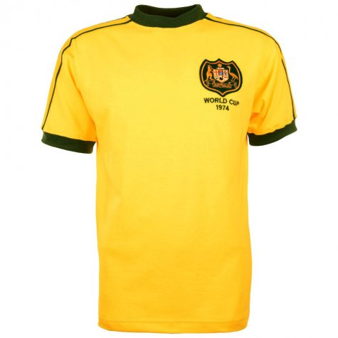 Australia 1974 World Cup Final Retro Football Shirt