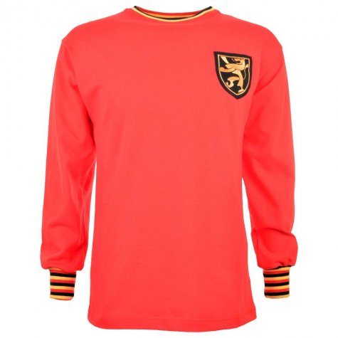 Belgium 1960s Retro Football Shirt