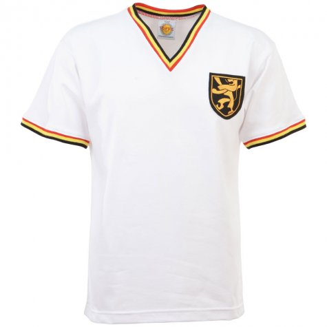 Belgium 1960s Away Retro Football Shirt