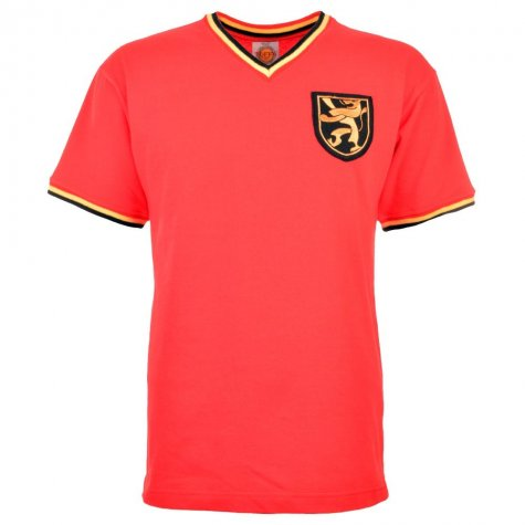 Belgium 1970s Away Retro Football Shirt