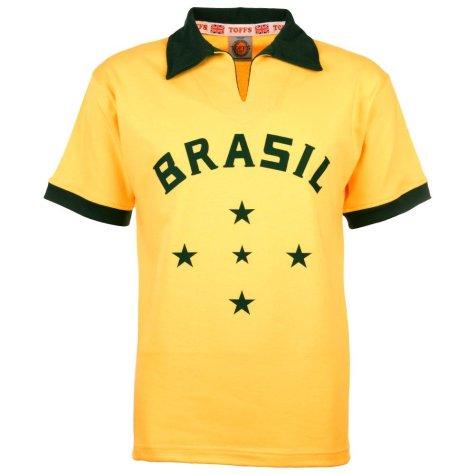 Brazil 1960 Retro Football Shirt