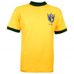 Brazil 1982 World Cup Home Retro Football Shirt