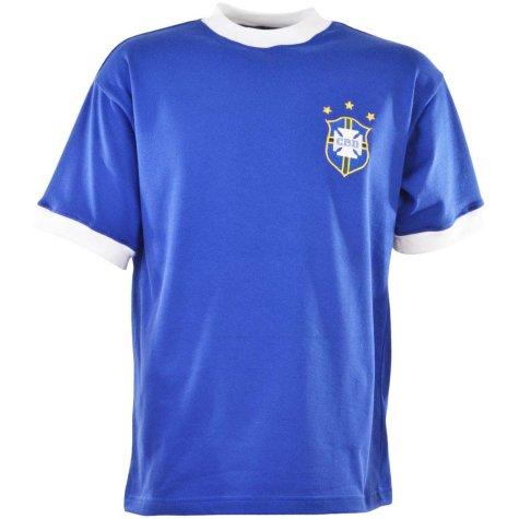 Brazil 1971 3 Star Retro Football Shirt