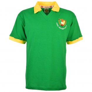 Cameroon 1982 World Cup Retro Football Shirt