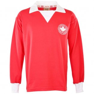 Canada 1970s Retro Football Shirt