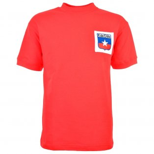 Chile Retro Football Shirt