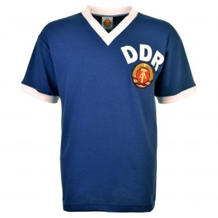 East Germany 1974 World Cup Retro Football Shirt