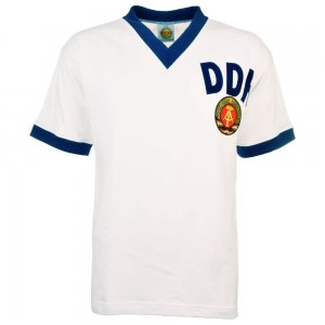 East Germany 1974 World Cup Away Retro Football Shirt